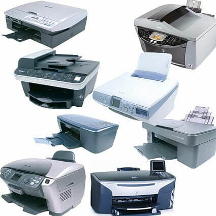 Different Types of Printers - DocX